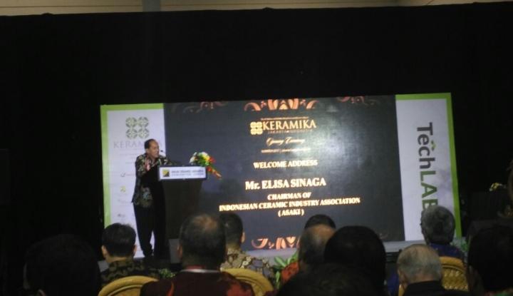 Foto Berita Pelaku Industri Keramik Ngeluh Harga Gas Belum Turun