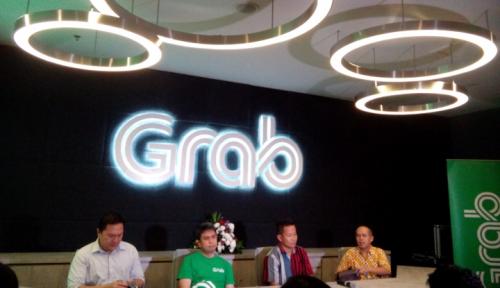 Foto Pengemudi GrabCar Dibekali Algoritma Khusus Selama Ganjil Genap Asian Games