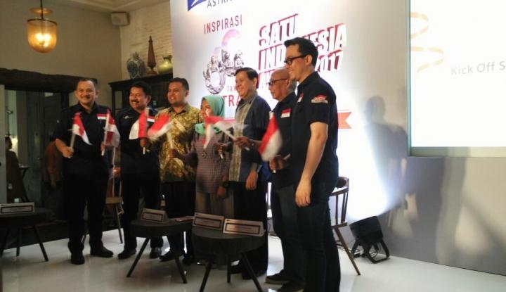 Foto Berita Kembali, Astra Gelar SATU Indonesia Awards 2017