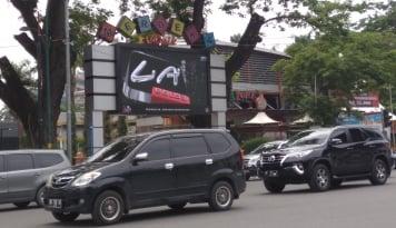 Foto Pura-pura Pesan, Polres Balikpapan Tilang 25 Kendaraan Go-Car