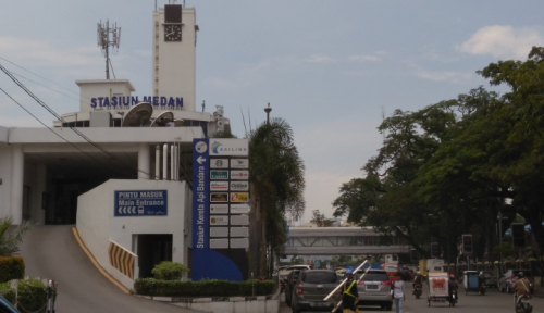Foto Cegah Corona Makin Meluas, Medan Terapkan Tutup Sejumlah Jalan Utama