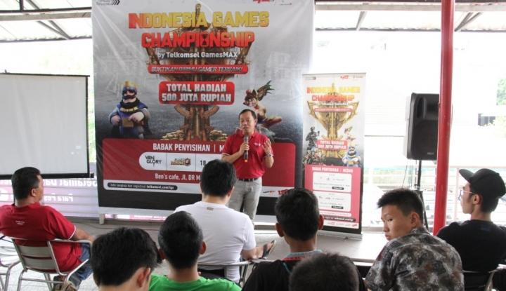 Foto Berita Telkomsel Kumpulkan Anak Muda Adu Games di Medan