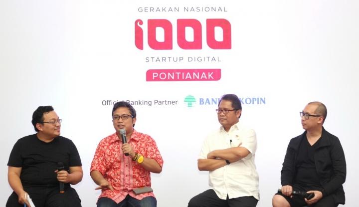 Foto Berita Menkominfo: Gerakan Nasional 1000 Startup Digital Bantu Perekonomian Masyarakat