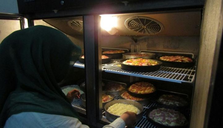 Foto Berita Pizza Raisa, Pizza Rumahan Nikmat dan Sehat