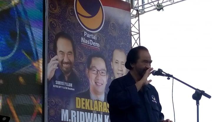 Adi Prayitno: Pidato Surya Paloh Ini Psywar di Internal Koalisi Jokowi - Warta Ekonomi