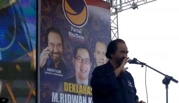 Foto Megawati dan Jokowi Hadir di Kongres Nasdem