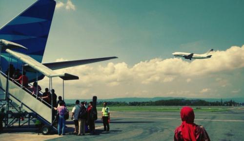 Foto BPS Gorontalo: Jumlah Penumpang Pesawat Meningkat Sebesar 11,94 Persen