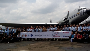 Foto Lomba Foto TNI AU dan Canon Ramaikan Bulan Dirgantara Indonesia