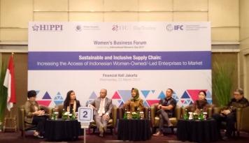 Foto Hippi Gelar Women's Business Forum 2017