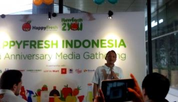 Foto Injak Usia 2 Tahun, Happy Fresh Tawarkan Banyak Fitur Terbaru