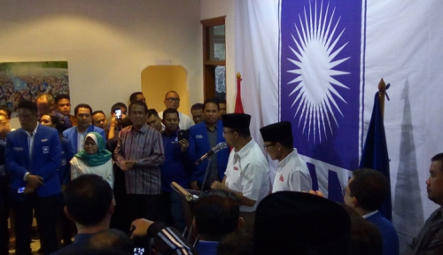 Foto PAN Pastikan Dukung Anies-Sandi Tak Ada Mahar Politik