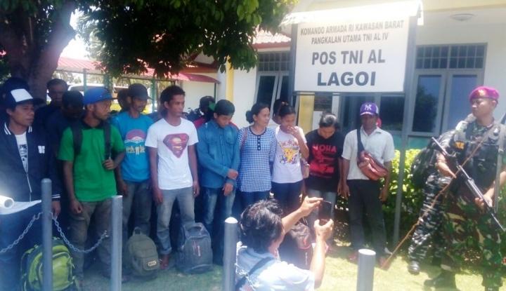 Foto Berita Polisi Grebek Penampungan TKI Ilegal