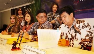 Foto BNI dan 4 Bank Salurkan Kredit Sindikasi Rp4 Triliun Lebih untuk Proyek Palapa Timur