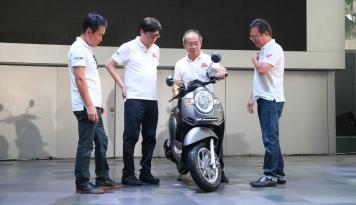 Foto All New Honda Scoopy Hadir Lebih Menawan