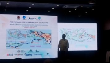 Foto Proyek Palapa Ring Timur, Rudiantara: Tidak Ada yang Mustahil karena Dana Sudah Ada