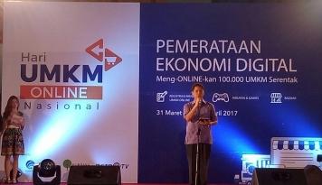 Foto 2 Juta UMKM Ditargetkan Go Online pada 2018