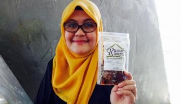 Foto Berawal dari Iseng, Eks Karyawan Bank Ini Ciptakan Kuliner Khas Makassar