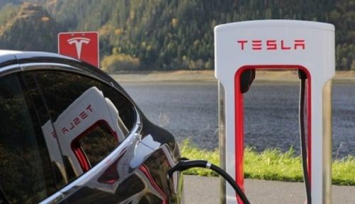 Foto Elon Musk Buat Tesla Versi China, Harganya Murah Abis