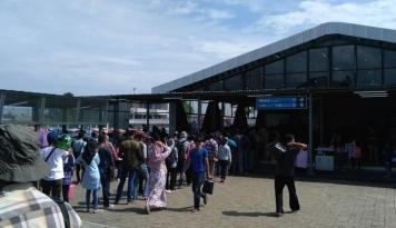 Foto Rini Janji Bereskan Stasiun Bogor
