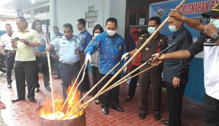 Foto Berita Upaya Lampung Bersih dari Narkoba