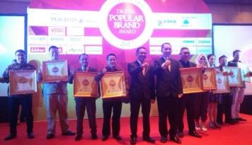 Foto 35 Merek Raih Digital Popular Brand Award 2017
