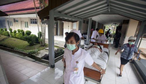 Foto 300 Pasien RSUD Pirngadi Siap Coblos di Pilgub Sumut
