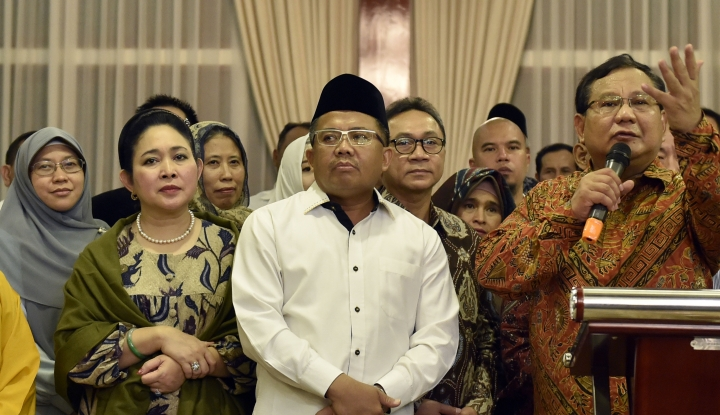 Bagi Prabowo-Titiek, Forum Publik Bak 'Jabal Rahmah', CLBK Nih? - Warta Ekonomi