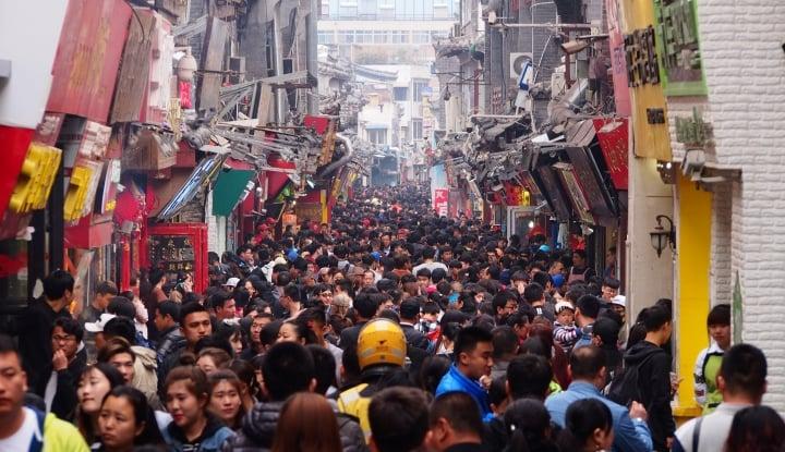 Foto Berita Hari Pertama Imlek, China Raup Rp175 Triliun