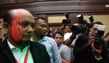 Foto Kasus e-KTP Pintu Masuk Ungkap Aktor Utama Penyiraman Novel