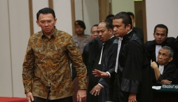 Foto Jaksa: Tuntutan Terhadap Ahok Sesuai Fakta Hukum