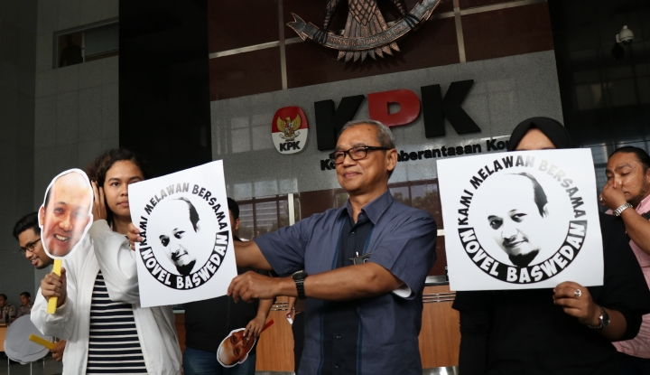 Foto Berita Lagi-Lagi, Pegawai KPK Tagih Janji Jokowi