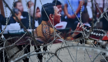 Foto Ahok Cuma Diganjar 1 tahun, Pemuda Muhammadiyah Bakal Laporkan JPU