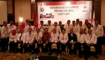 Foto Muhammad Ali Reza Terpilih Jadi Nahkoda PMI DKI Jakarta
