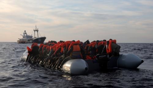 Foto Lagi, 300 Lebih Migran Berhasil Diselamatkan di Pantai Spanyol