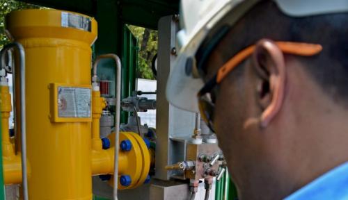 Foto Jadi Subholding Gas, Danareksa Sebut Laba PGN Bakal Meroket