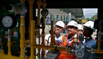 Foto PGN Pasok Gas ke 12.000 Rumah di Lampung