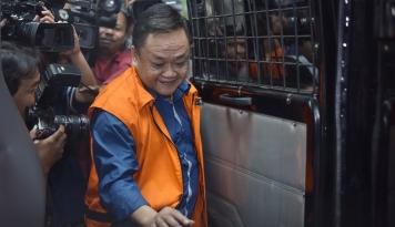 Foto KPK Limpahkan Tersangka Korupsi Bakamla ke Jaksa