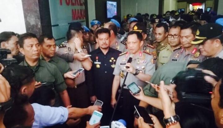 Foto Berita Kapolri Siap Berikan Pengamanan Maksimal bagi Penyidik KPK
