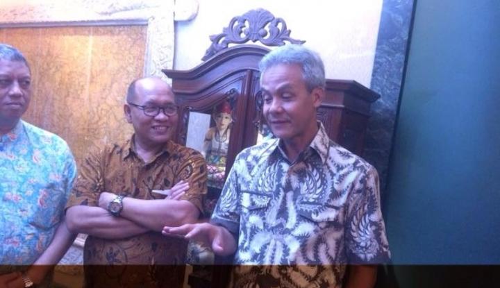 Foto Berita Bela Nasib Guru Tidak Tetap, Ganjar Lobi Jokowi