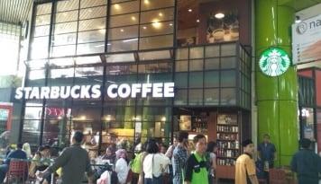 Foto Imbas Brexit, Laba Starbucks Anjlok 61 Persen