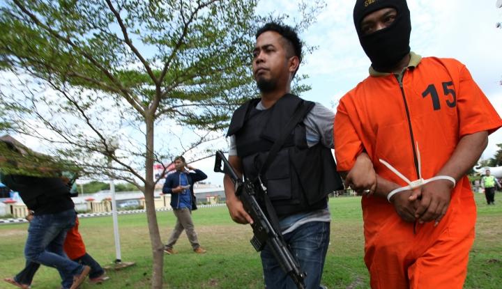 Foto Berita Densus 88 Tangkap Lagi Dua terduga Teroris