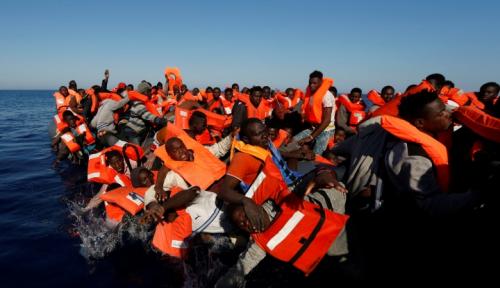Foto Korban Tewas Bencana Kapal Feri di Tanzania Tembus 136 Orang