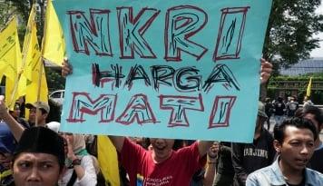 Foto Polres Bogor Ancam Turunkan 1.000 Personel Amankan Diskusi 'Khilafah'