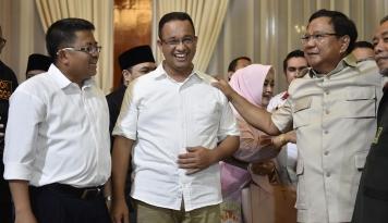 Foto Prabowo: Kita Jangan Terkotak-kotak