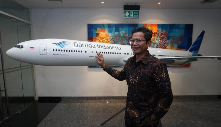 Foto Berita Garuda Indonesia Tambah 50 Ribu Kursi untuk Mudik Lebaran