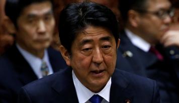 Foto Temui May, Shinzo Abe Inginkan Transisi Bisnis Mulus Pasca-Brexit