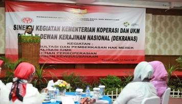 Foto Pengurusan Hak Cipta Produk UKM Bisa Diproses di Kecamatan