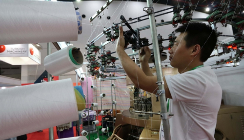 Foto Impor Kain Hambat Pertumbuhan Industri Teksti