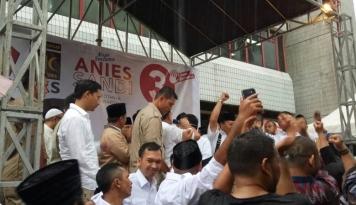 Foto DPP Gerindra Deklarasikan Kemenangan Anies-Sandi