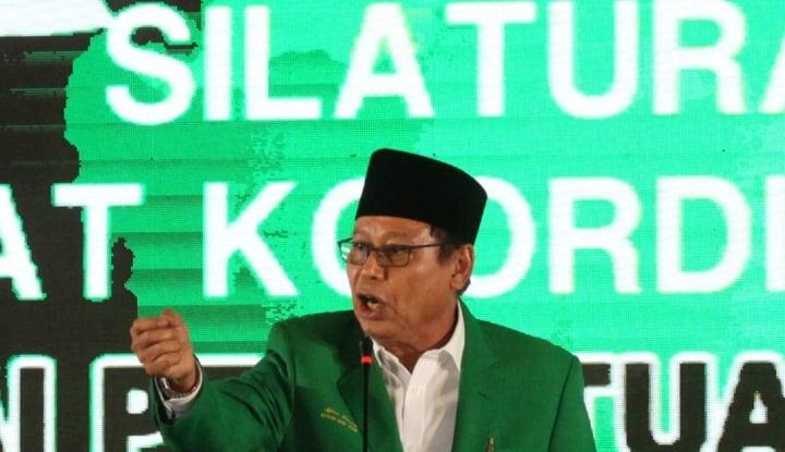 Foto Berita Djan Faridz Jenguk Papa Novanto